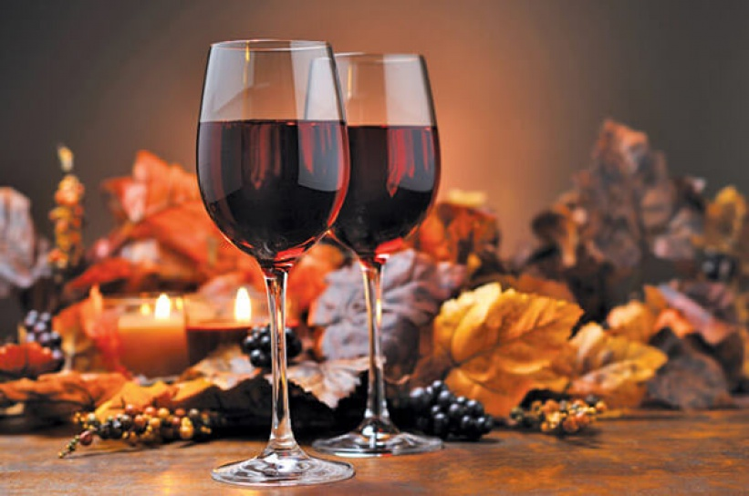 Image result for wine and autumn