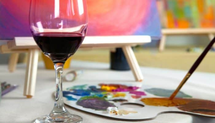 Painting with Wine: Activity of the Week