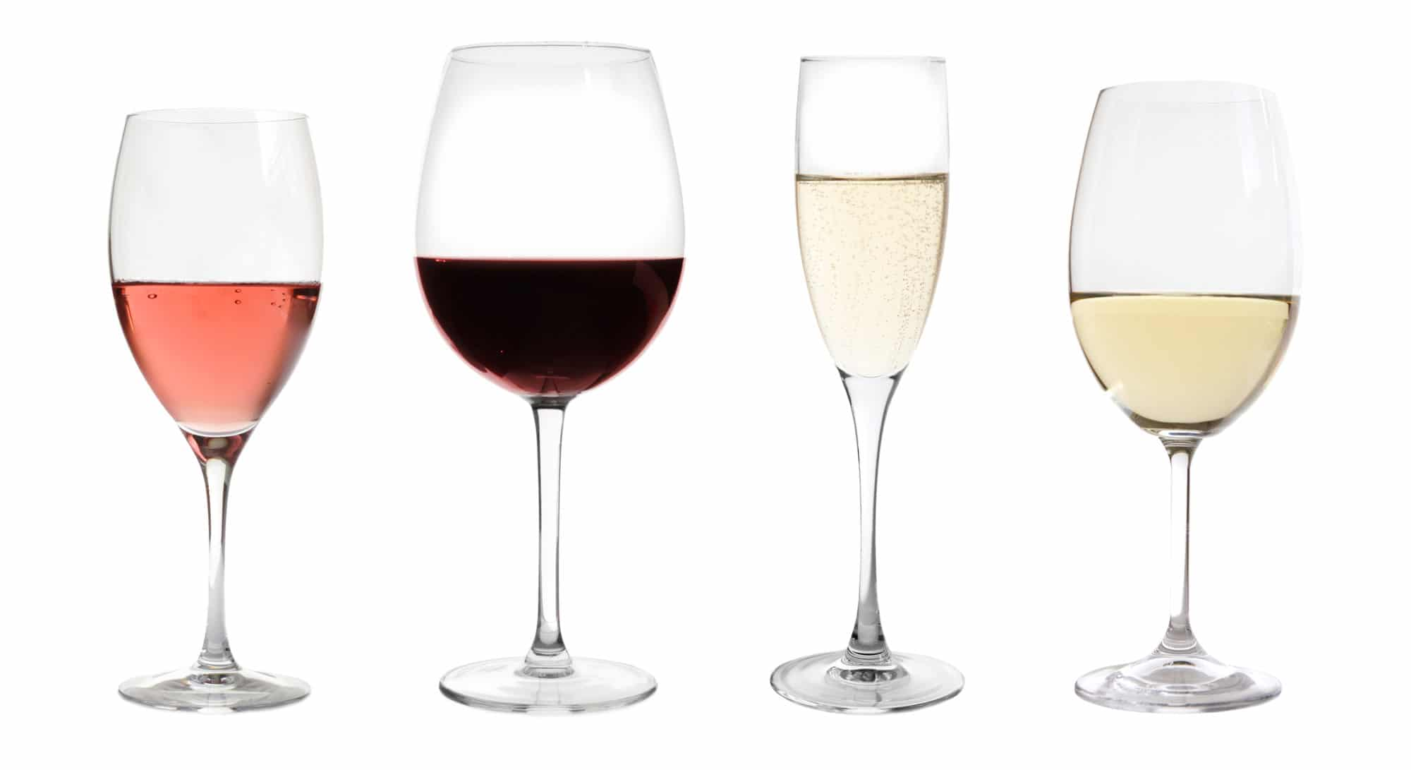 Four Wine Types