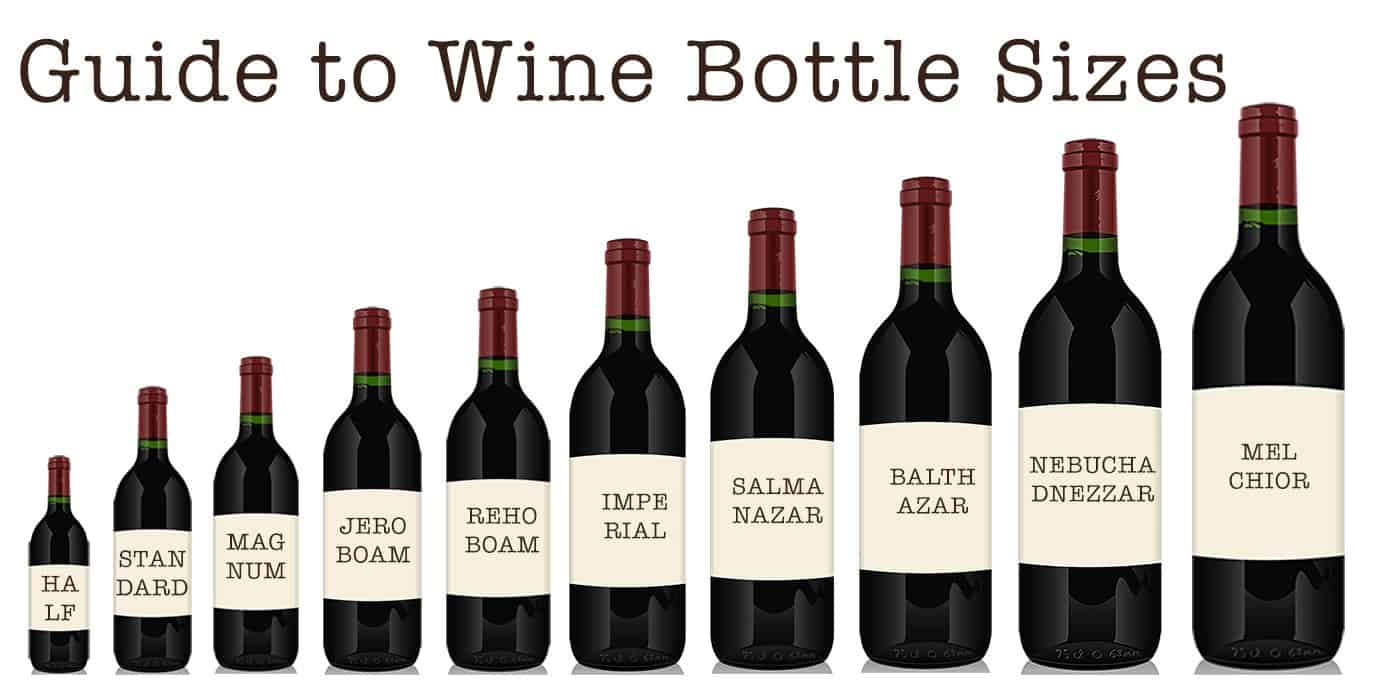 Different Wine Bottle Sizes