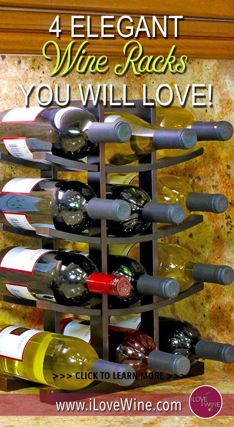 4 Elegant Wine Rack Design Ideas For Your Home - I Love Wine