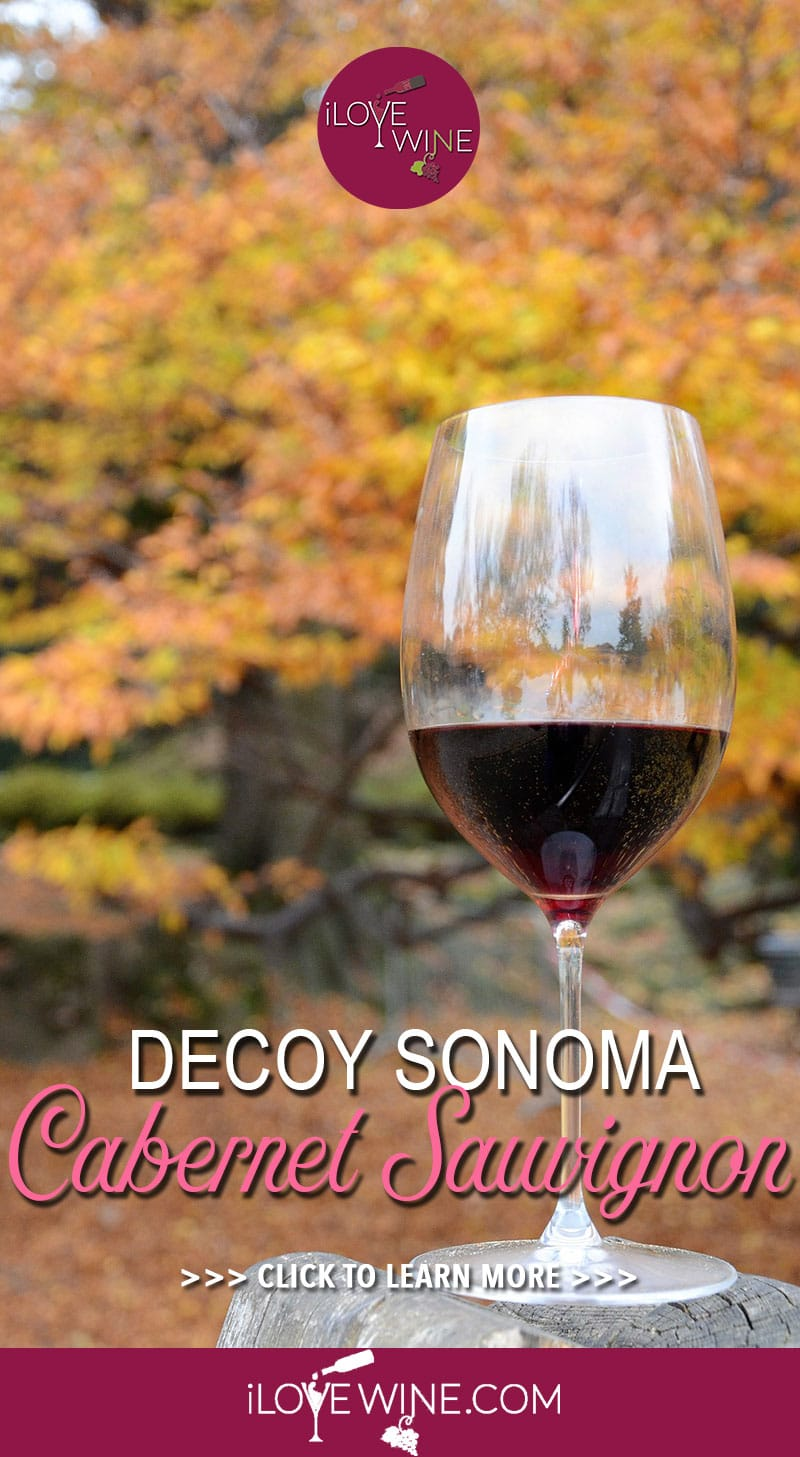 Duckhorn Vineyards, the experts behind the Decoy Sonoma Cabernet Sauvignon 2015, had one of their earliest harvests for a decade and were able to select the grapes for this wine between August and October. Click to learn more! Love wine | Cabernet Sauvignon Wine | Decoy Sonoma Cabernet Sauvignon #lovewine #wine #CabernetSauvignon #napavalley